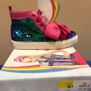 NWT-JoJo Siwa girls mermaid Hugo tips size 13